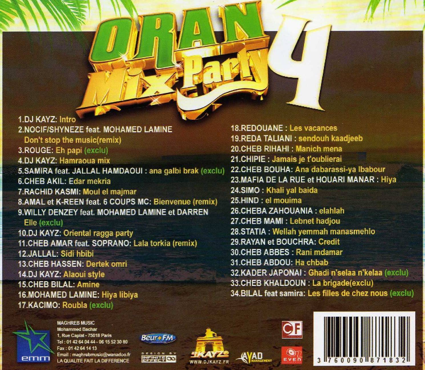 dj kayz oran mix party 6